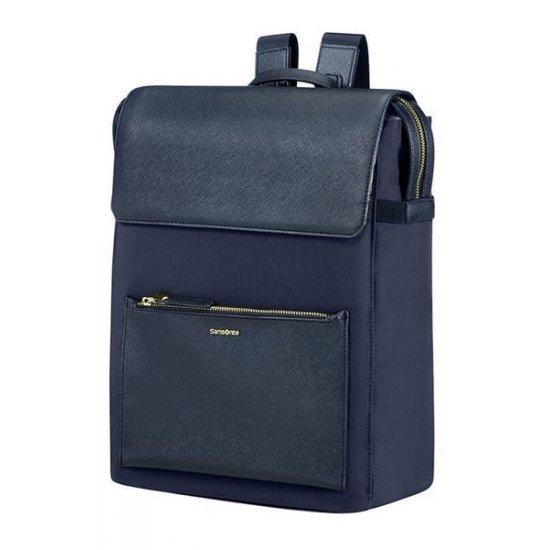 Zalia Rectangular Backpack 35.8cm/14.1″Dark Blue