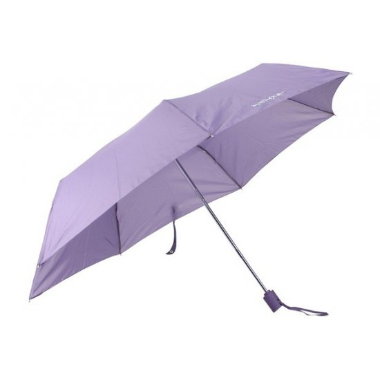 Дамски автоматичен чадър в лилав цвят