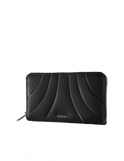 Black ladie's wallet Midtown 2, model: U60.09.203 - Ladies' leather wallets