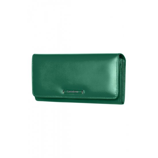 Lady Chic II SLG L Wallet 14cc + 2w + 2 Zip Coin