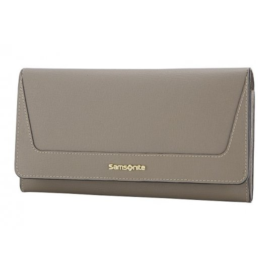 Lady Saffiano II SLG Large Ladies' Wallet