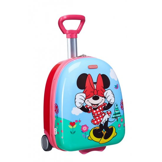 Children's suitcase on two wheels Minnie Floral 45cm.