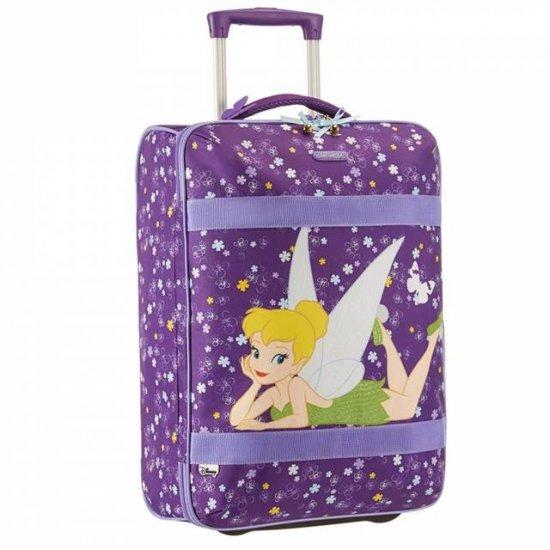 Детски куфар за ръчен багаж на 2 колела Tinkerbell 52см.
