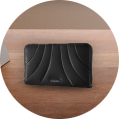 Ladies' leather wallets