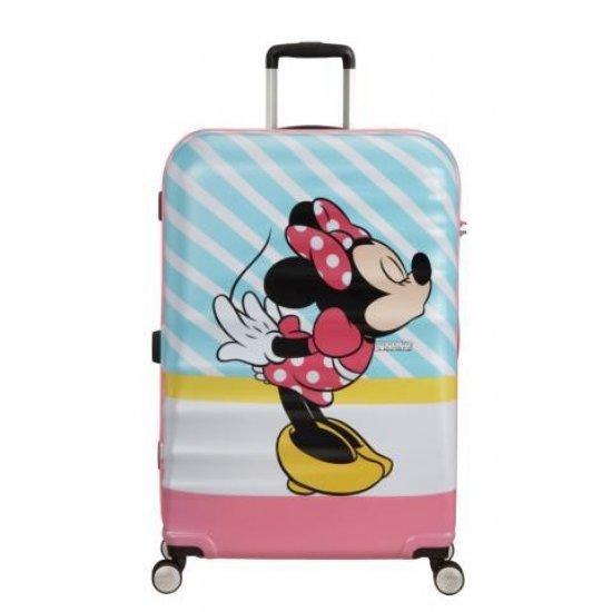 АТ 4-wheel 77cm Spinner suitcase Wavebreaker MINNIE PINK KISS