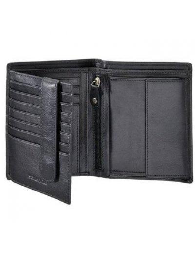 Success SLG Wal 3CC + H Fl + W + C + Zip + 2C Black - Men's leather wallets