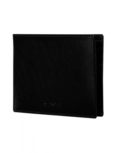Success Slg Billfold 8cc + 2 Comp Black - Leather wallets