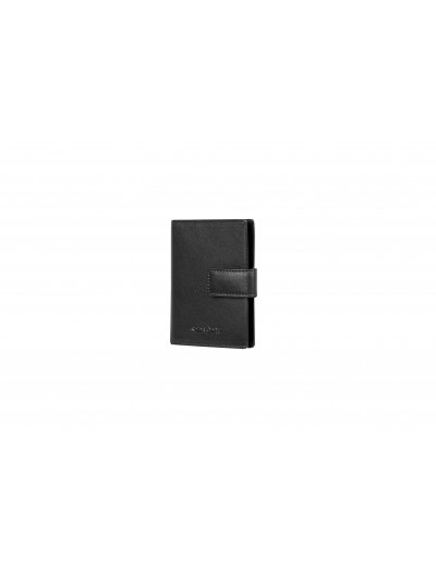 Success Slg CC/Visit Card Holder Vertical Black - Ladies' leather wallets