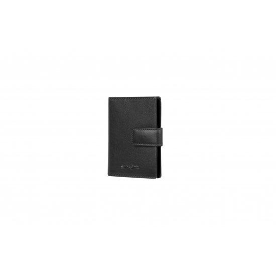 Success Slg CC/Visit Card Holder Vertical Black