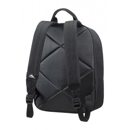 Everyday backpack High Sierra with grey stripes