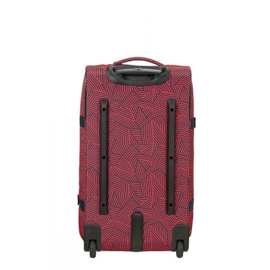 Rewind Duffle with wheels 68cm Capri Red Stripes