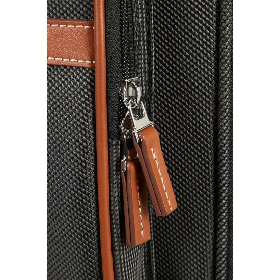 Fairbrook Rolling Tote 39.6cm/15.6″ Black/Cognac