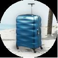 Women's suitcases