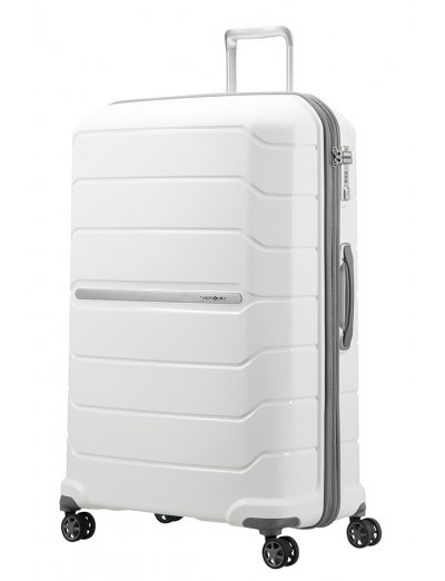 Flux Spinner Expandable 81cm White - Large suitcases