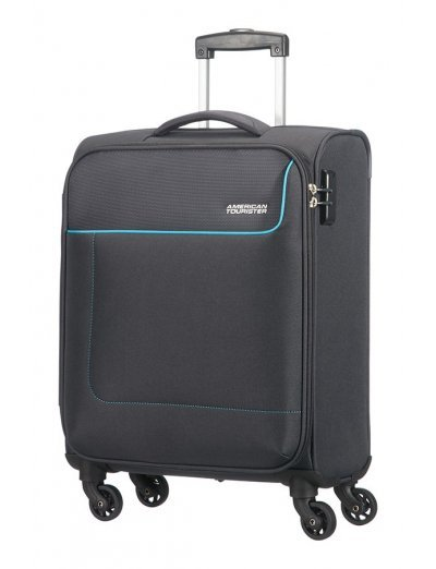 Funshine 4-wheel cabin baggage Spinner suitcase 55cm - Softside collection