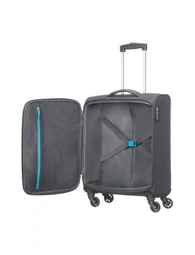 Funshine 4-wheel cabin baggage Spinner suitcase 55cm - Softside suitcases