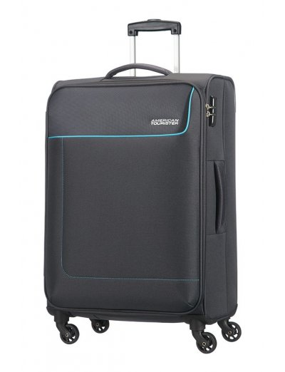 Funshine 4-wheel spinner suitcase 66cm - Softside suitcases