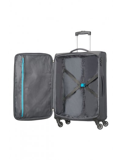 Funshine 4-wheel spinner suitcase 66cm - Softside collection