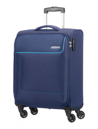 Funshine 4-wheel cabin baggage Spinner suitcase 55cm - Product Comparison
