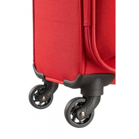 Funshine 4-wheel spinner suitcase 66cm Rio Red