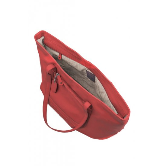 Голяма червена дамска чанта  Park