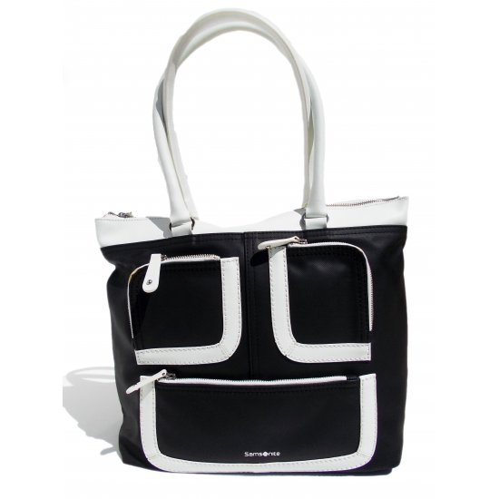 Large Women's Baihandle Park Icon in black and white