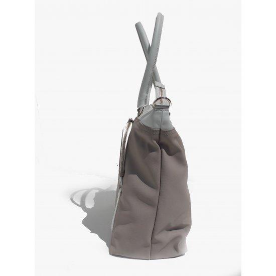 Голяма вертикална дамска чанта Park Icon в пясъчен цвят