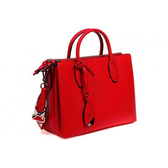 Seraphina Shopping bag Scarlet Red