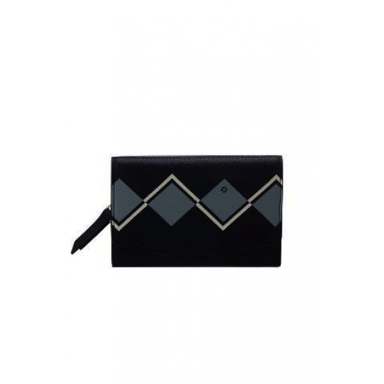 Seraphina ladie's wallet made out of 100% PU Dark Navy