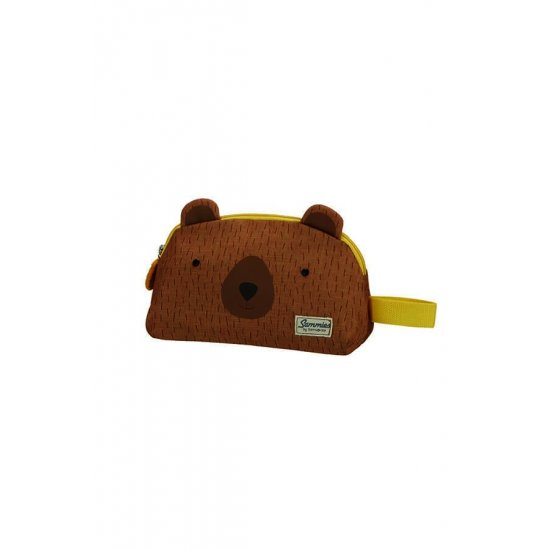 Happy Sammies Toiletry Bag Teddy Bear