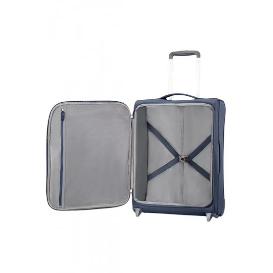 Herolite 2-wheel Upright suitcase 55 cm Navy Blue