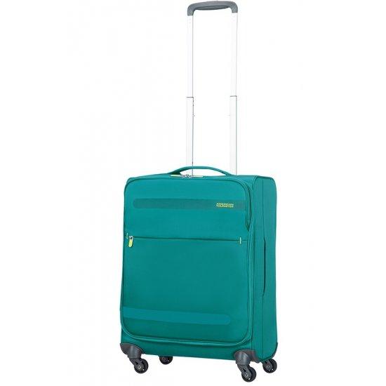 Herolite 4-wheel Spinner suitcase 55 cm Cactus Green