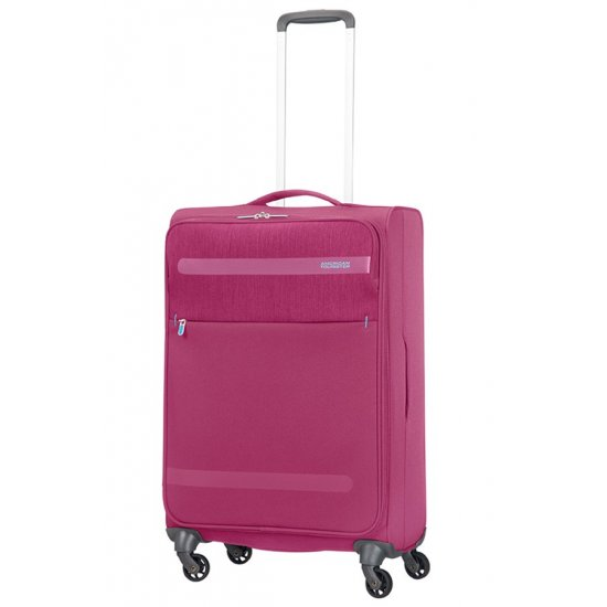 Herolite 4-wheel Spinner suitcase 67 cm Pomegranate