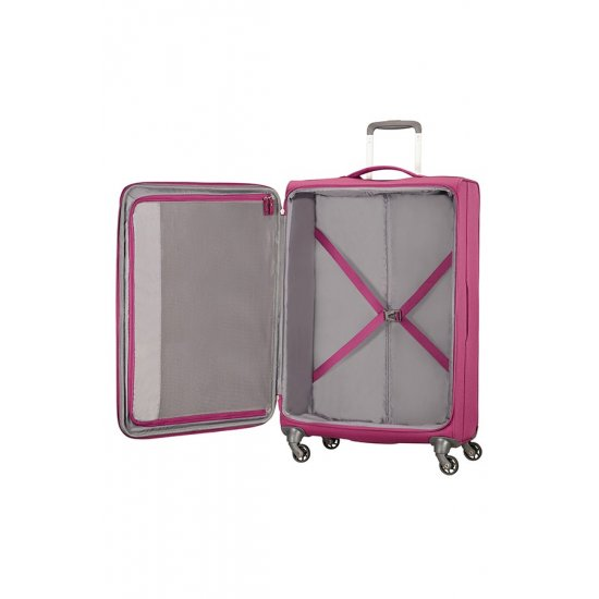 Herolite 4-wheel Spinner suitcase 74 cm Pomegranate