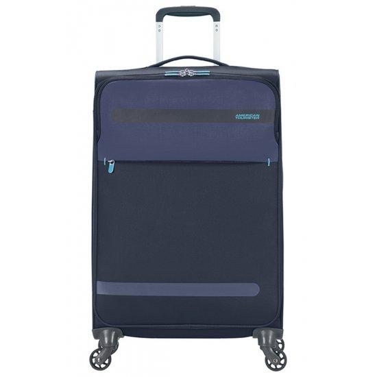 Herolite 4-wheel Spinner suitcase 67 cm Navy
