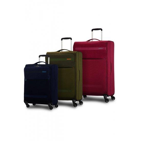 Herolite 4-wheel Spinner suitcase 74 cm Khaki