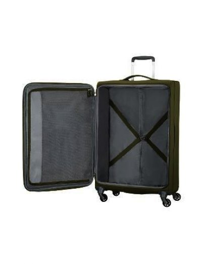 Herolite 4-wheel Spinner suitcase 74 cm Khaki - Product Comparison