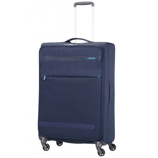 Herolite 4-wheel Spinner suitcase 74 cm Navy Blue