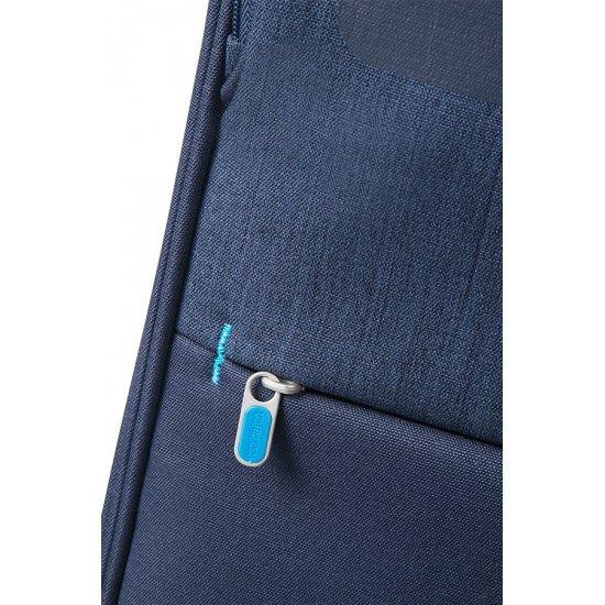 Herolite 4-wheel Spinner suitcase Expandable 55 cm Navy Blue