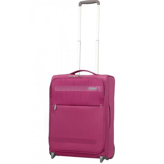 Herolite 2-wheel Upright suitcase 55 cm Pomegranate