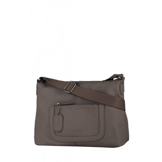 Хоризонтална дамска чанта  Park цвят шоколад