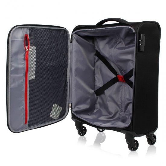 Joyride 4-wheel Spinner suitcase 55 cm Black