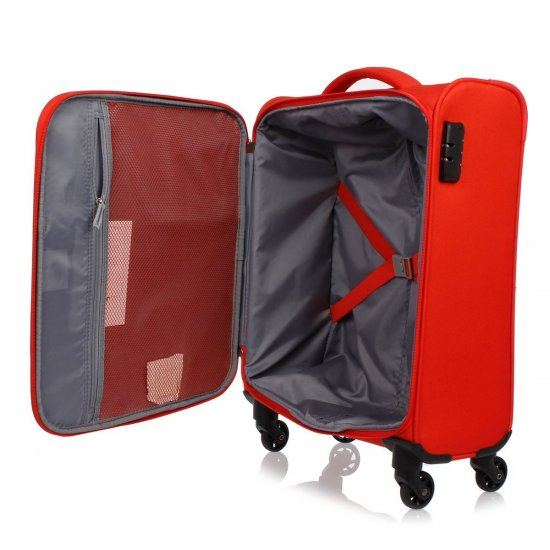 Joyride 4-wheel Spinner suitcase 55 cm Flame Red