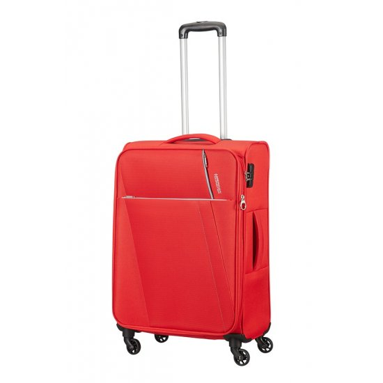 Joyride 4-wheel Spinner suitcase 79 cm Hawaii Flame Red