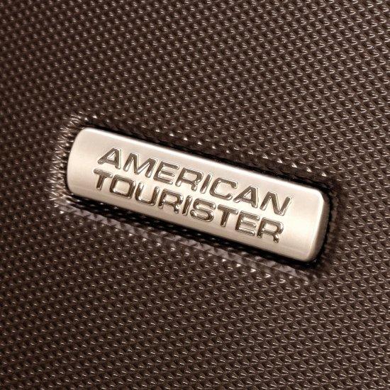 Кафяв куфар на 4 колела Jazz Diamond 77см. American Tourister