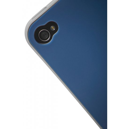 Mobile phone case iLuminor in classical blue colors