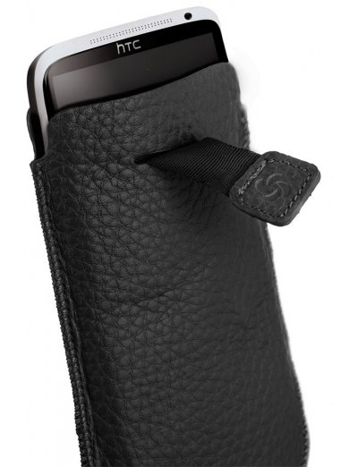 Case for an iPhone 5 made of Full leather Classic leather - Phone cases