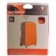 Калъф за съхранение на куфар, размер L - за големи куфари с височина 75 - 85 см  в цвят оранжево на фигурки