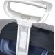 Калъф за съхранение на куфар с височина 65 до 80 см в цвят фигурално оранжево