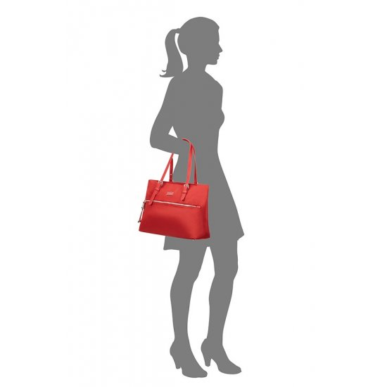 Karissa Shopping Bag M Formula Red